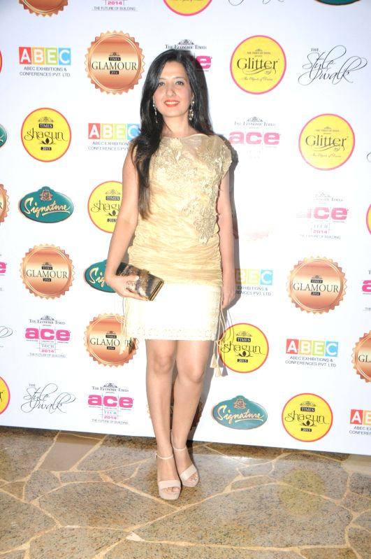 Amy Billimoria during the gala musical dinner hosted by Bulbeer Gandhi, Additional director, Asian Business Exhibition & Conferences (ABEC) for prominent jewelers across the country in Mumbai on .