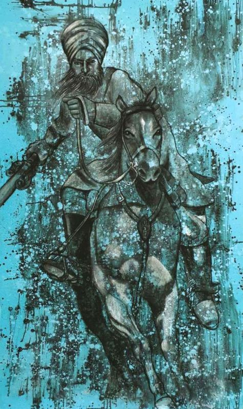 An artwork by Harshdeep Kaur.