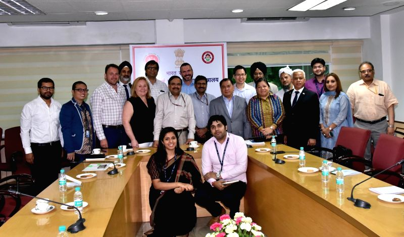 An international delegation of representatives from Philippines, Thailand, Indonesia, Bangladesh and Nepal including representatives from the government and country offices of UNDP call on ...