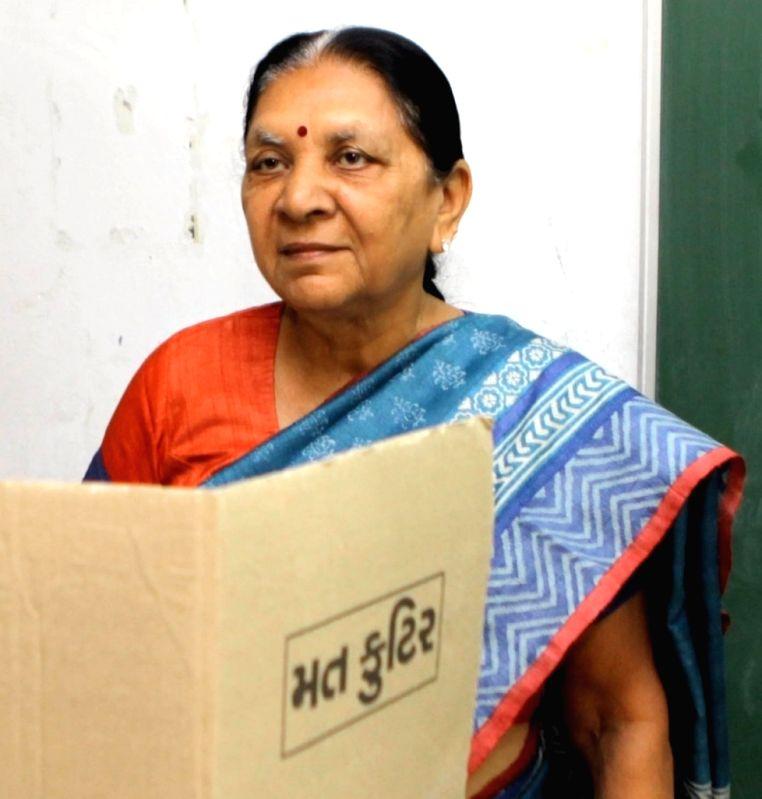 Anandiben Patel (File Photo: IANS)