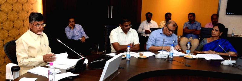 Andhra CM meets managers of private colleges - N. Chandrababu Naidu