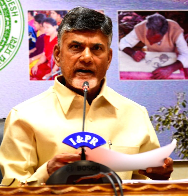 N Chandrababu Naidu's press conference - N Chandrababu Naidu