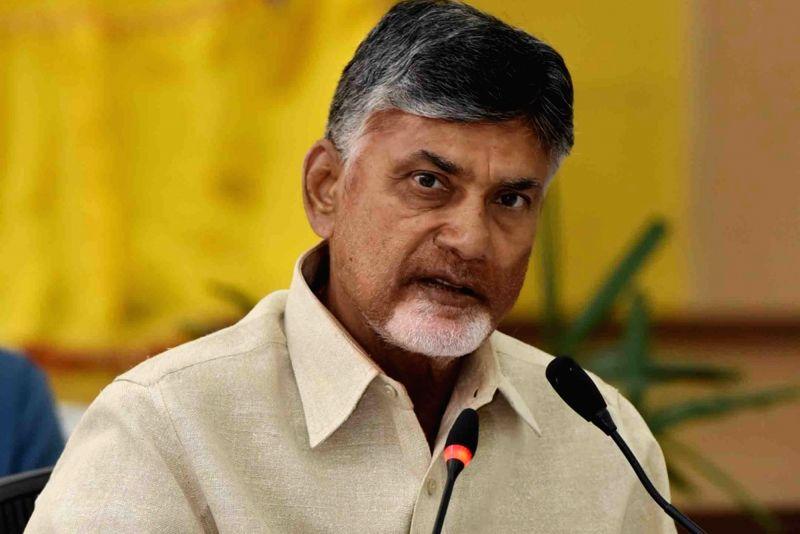 Andhra Pradesh Chief Minister N. Chandrababu Naidu. (Photo: IANS)(Image Source: IANS News)