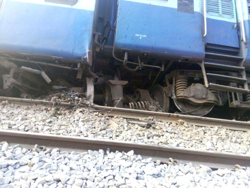 The derailed bogies of the Bengaluru-Erankulam inter-city express between Anekal station (near Bengaluru) and Hosur (in Tamil Nadu) on Feb 13, 2015. Twelve passengers died and 30 were injured