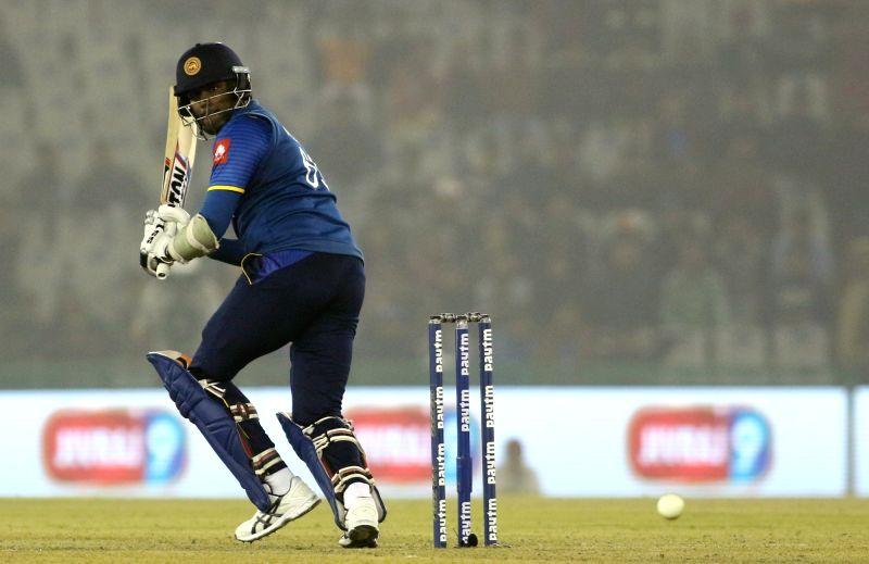 Angelo Mathews. (Photo: Surjeet Yadav/IANS)