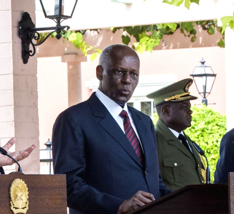 Angola President Jose Eduardo Dos Santos. (File Photo: IANS)