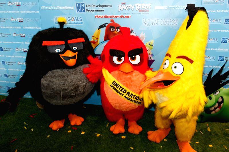 Angry Birds. (Xinhua/Li Muzi/IANS)