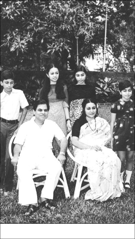 Antulay family photo.