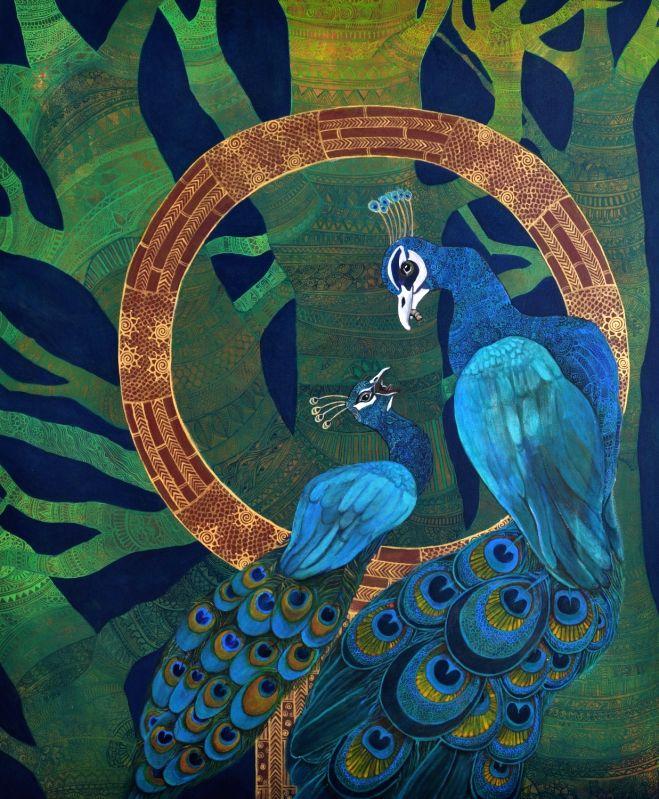Anuja Choksi Khanna's painting.