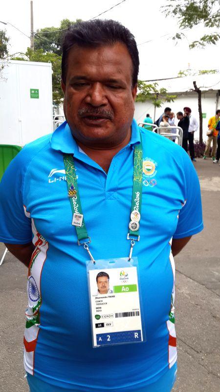Archery Head Coach Dharmendra Tiwari