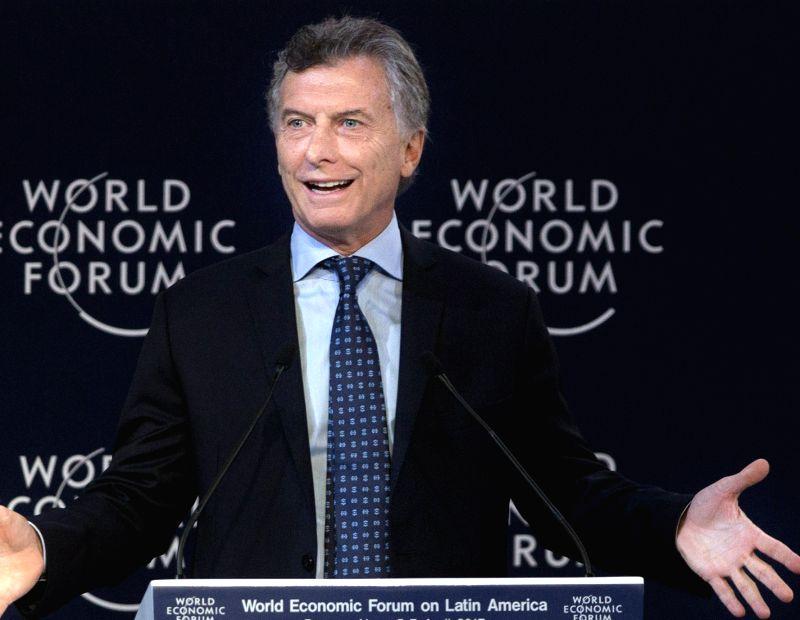 Argentina President Mauricio Macri. (File Photo: IANS)