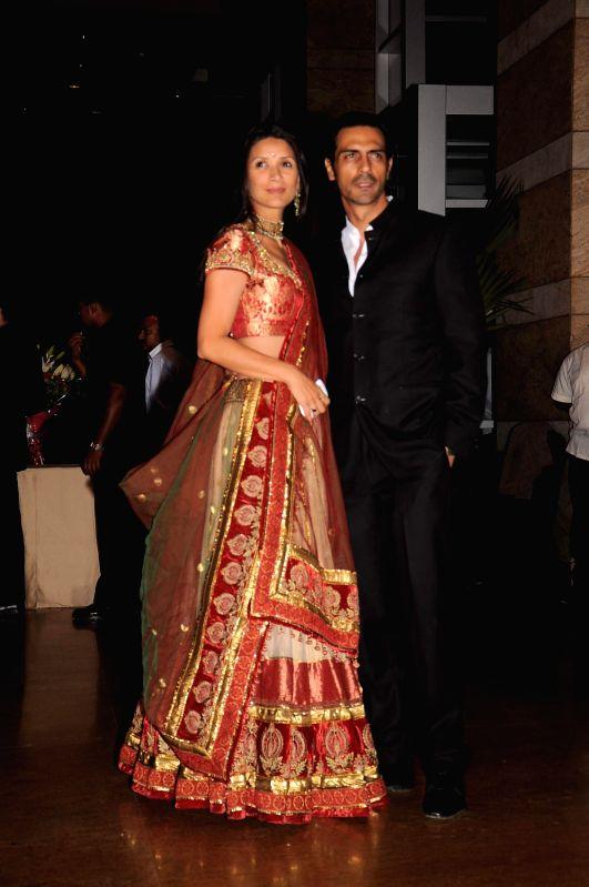 Genelia D Souza And Riteish Deshmukhs Wedding Reception