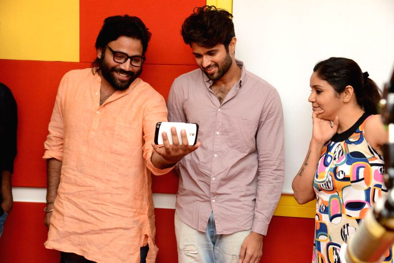 Arjun Reddy 1st Song Launch at Radio Mirchi. - Arjun Reddy