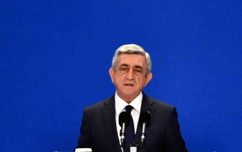 Armenia President Serzh Sargsyan. (File Photo: IANS)