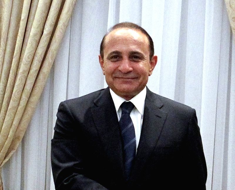 Armenia Prime Minister Hovik Abrahamyan. (File Photo: IANS) - Hovik Abrahamyan