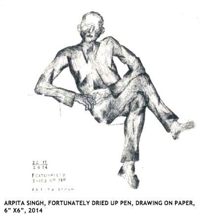 Arpita Singh's art work