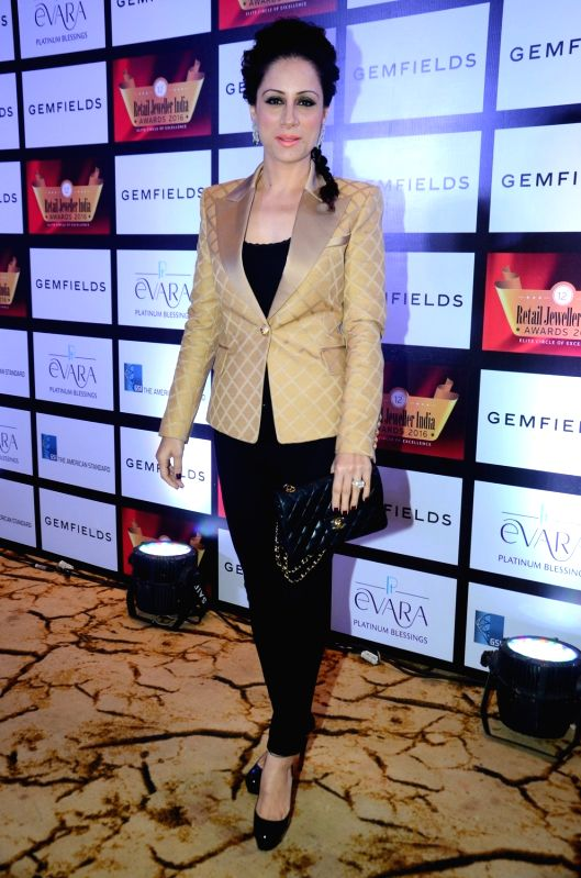Artist and Muralist Rouble Nagi during the Grand Jury Meet for the Retail Jeweller India Awards 2016, in Mumbai on July 26, 2016.