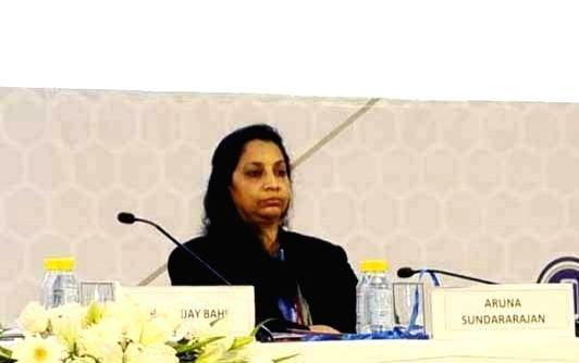 Aruna Sundararajan. (File Photo: IANS)