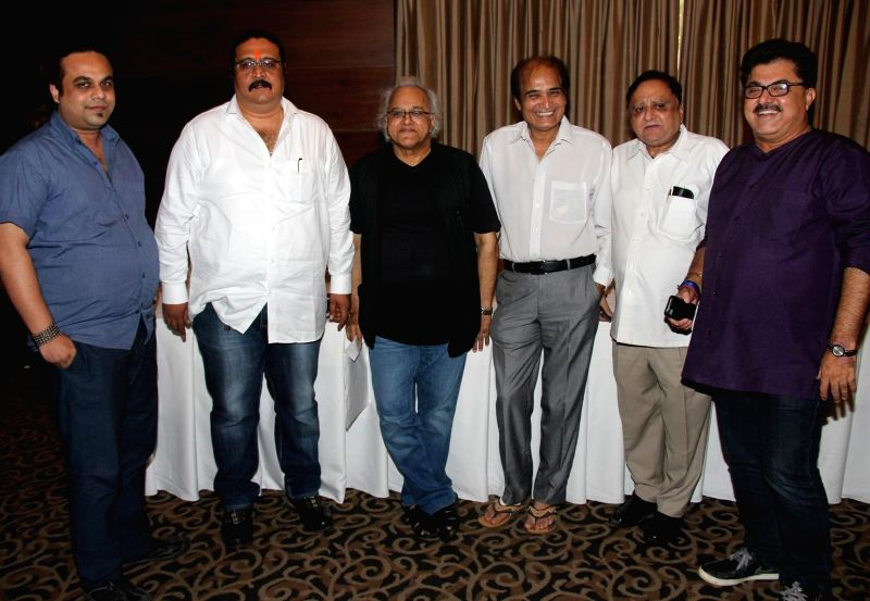 Asish Rego, Dilip Pithwa, Kamlesh Pandey, Dharmesh Tiwari, Vikas Mohan and Ashok Pandit during the press conference for the clarification on the true occurrences in the conflict between the Allied ... - Kamlesh Pandey