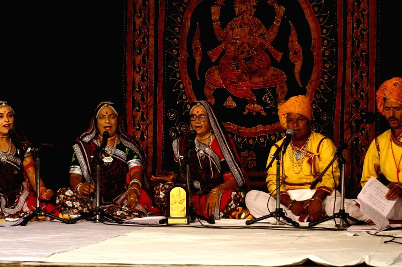 Assamese and Malwi folk music performances at the IGNCA.