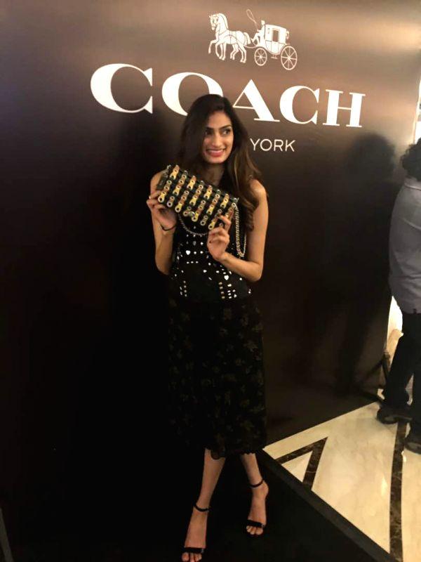Athiya Shetty launches Coach store in Capital - Athiya Shetty