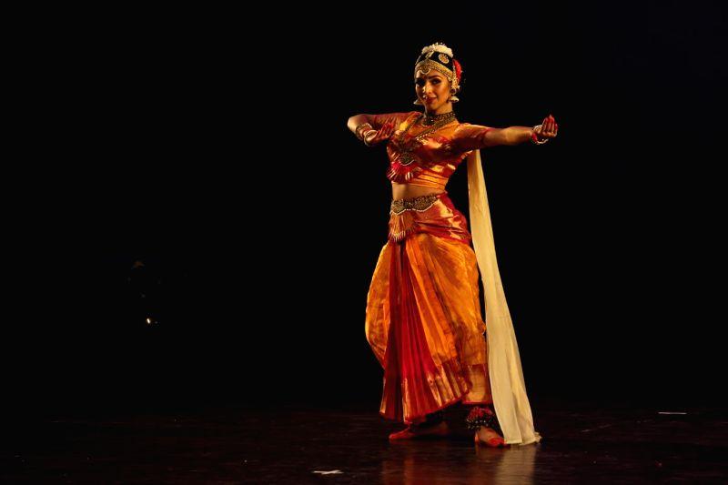 Atisha performing Kuchipudi