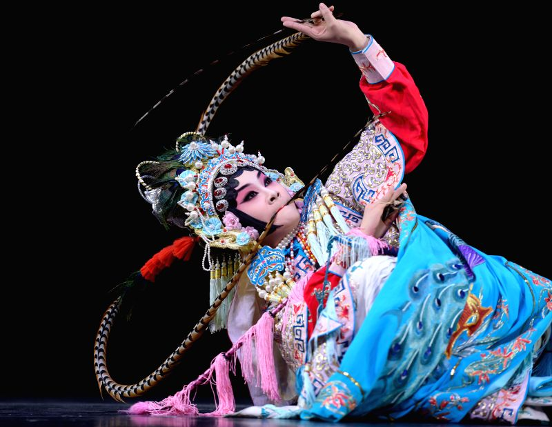 "Peking Opera actress Zhou Meihui performs ""The Princess and The Consort Prince"" during the ""Cultures of China, Festival of Spring"" performance ... - Zhou Meihui"