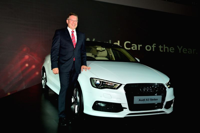Audi India Head Joe King during launch of Audi A3 in New Delhi on Aug 7, 2014.