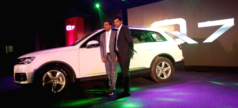Audi launches New Audi Q7 in Kolkata, on Dec 11, 2015.