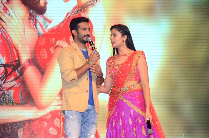 Audio launch of Telugu film Aatadukundam Raa in Hyderabad today on Aug 5, 2016