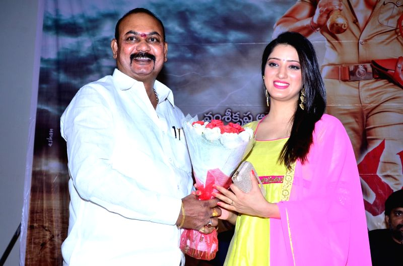 Audio launch of Telugu film Rakshaka Bhatudu.