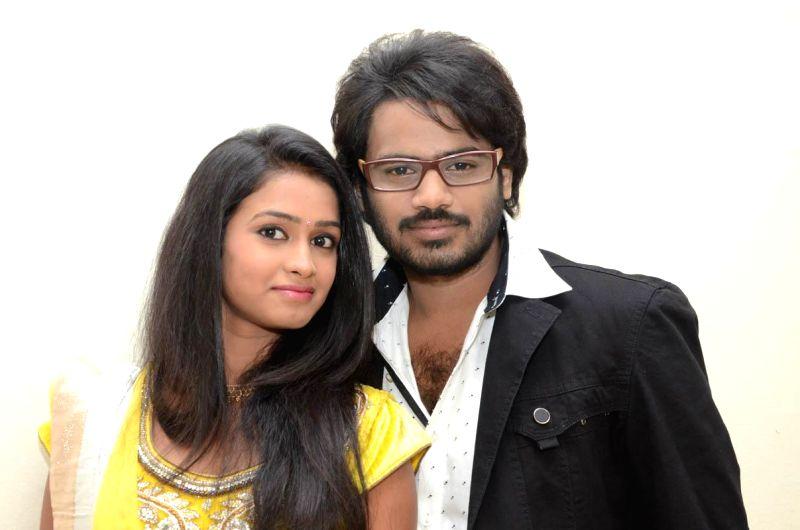 Audio release of Telugu film I am in Love at Ravi Narayana Reddy Hall, Jublee Hills in Hyderabd on Saturday, Aug. 16, 2014.