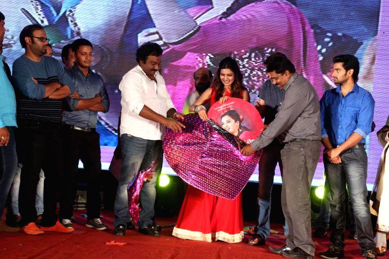 Audio release of Telugu film `Lovers`.