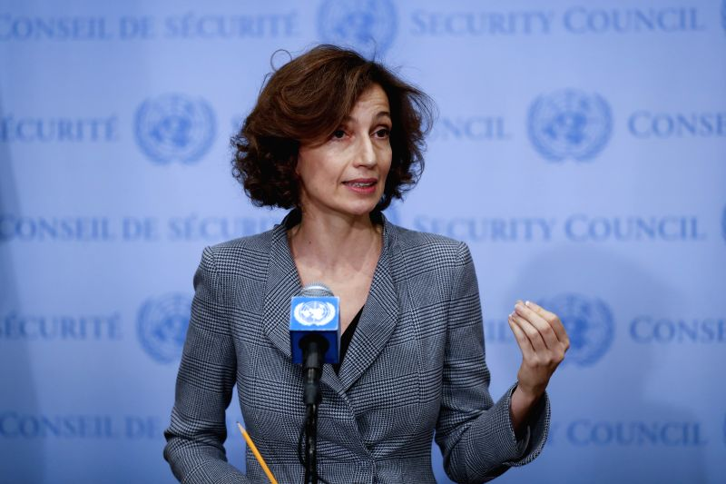 Audrey Azoulay. (Xinhua/Li Muzi/IANS)