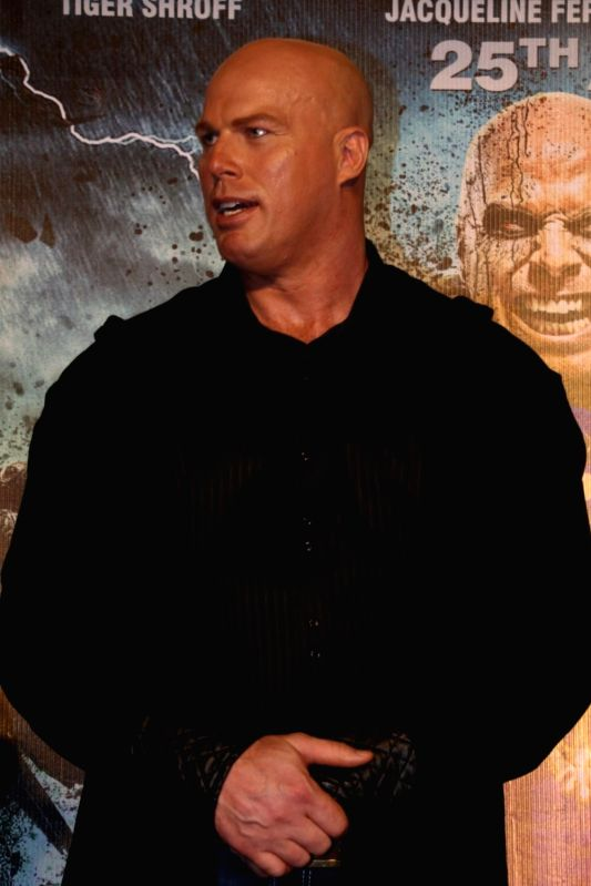 Australian actor Nathan Jones during the trailer launch of film Flying Jatt in Mumbai on July 18, 2016 - Nathan Jones