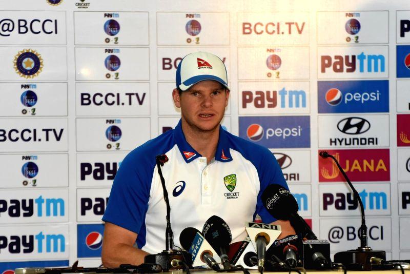 video press conference steve smith