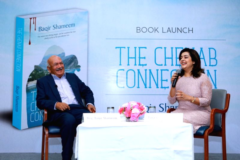Author and senior journalist, Tina Sharma Tiwari in conversation with Auther Brigadier Baqir Shameem - Tina Sharma Tiwari
