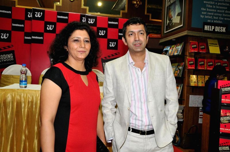 Author Sonia Golani and filmmaker Kunal Kohli during the launch of book Decoding Bollywood by author Sonia Golani in Mumbai, on Aug 28, 2014. - Kunal Kohli