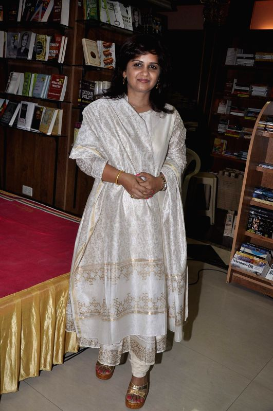 Author Supriya Parulekar during the launch of her book Best Friends Forever in Mumbai on July 25, 2014.