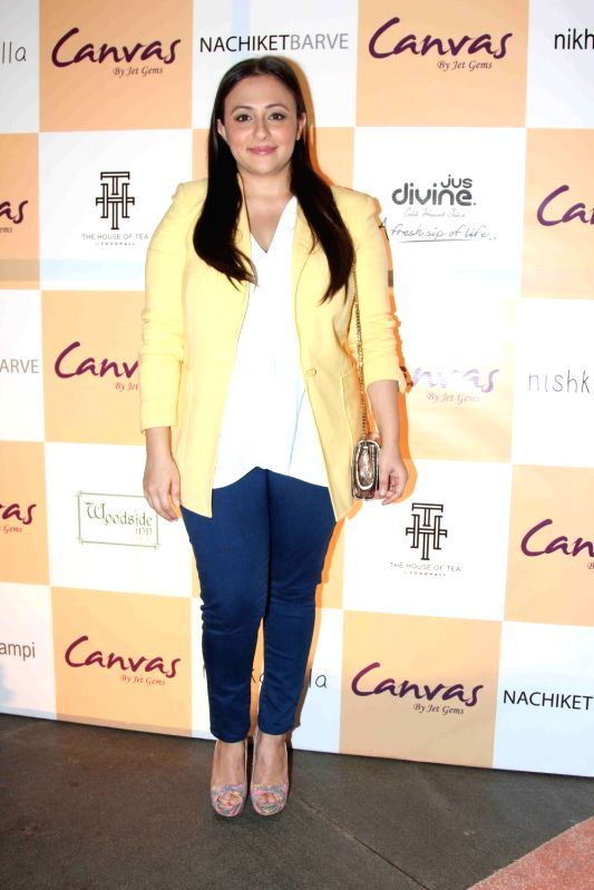 Avantika Malik Khan during the launch of jewellery brand, Canvas by Jet Gems in Mumbai on Dec 3, 2015. - Avantika Malik Khan