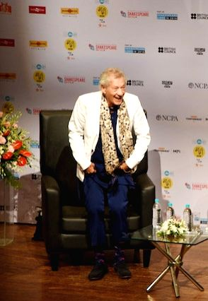 Award-winning British actor Ian McKellen. (File Photo: IANS) - Ian M