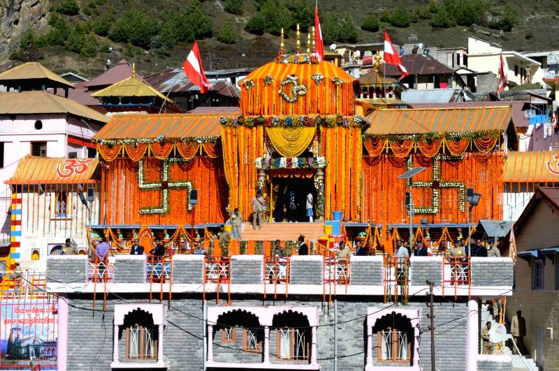 Badrinath temple. (File Photo: IANS)