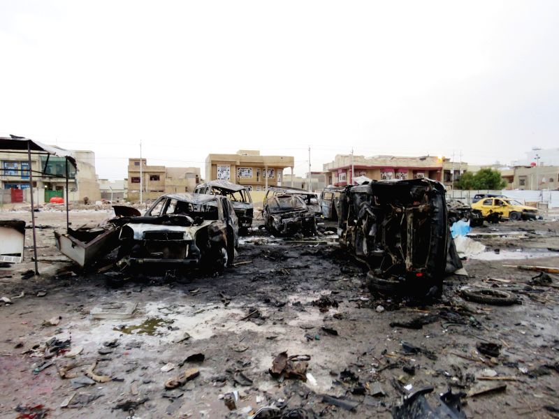 Image result for baghdad bombing feb 2017