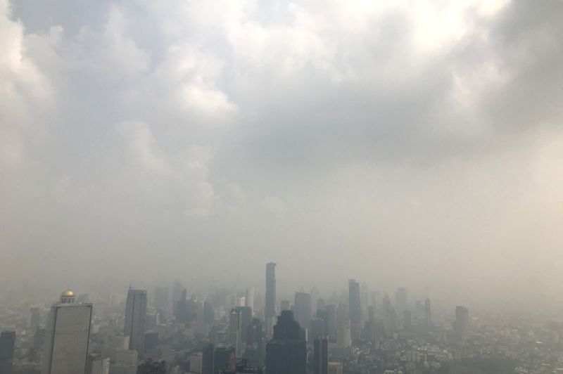 Health Impact from Air Pollution in Thailand: Current and Future Challenges