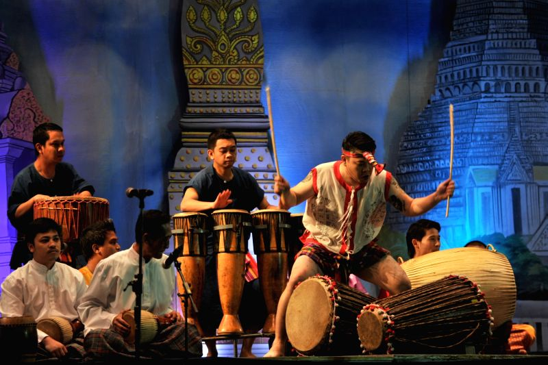 International Drum Festival at the National Theatre in Bangkok