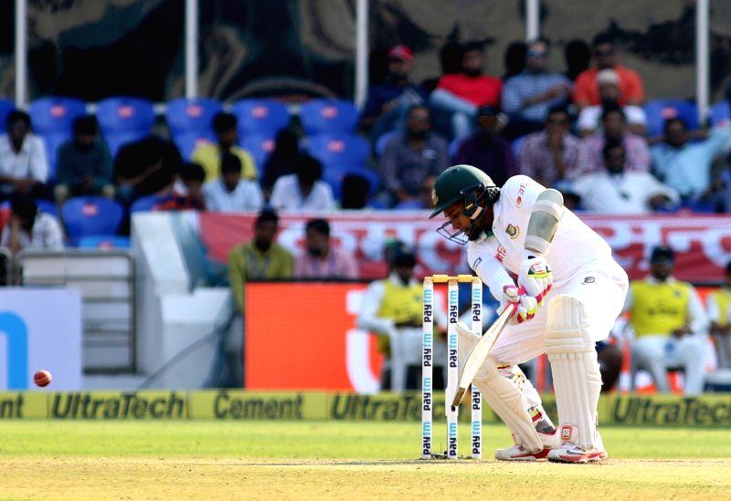 Bangladesh captain Mushfiqur Rahim bats - Mushfiqur Rahim