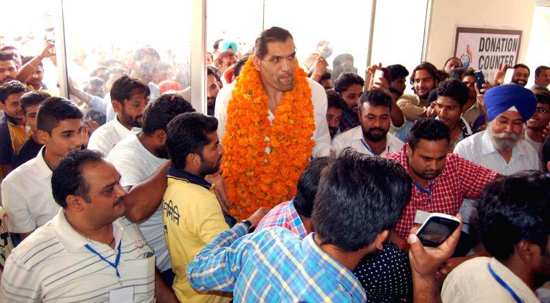 Bathinda: Wrestler Dalip Singh Rana - popularly known as the Great ...