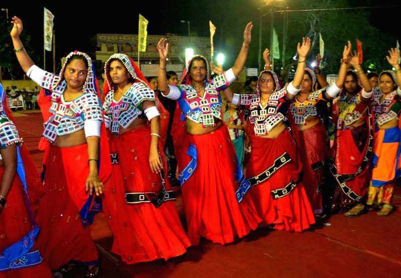 Bathukamma celebrations underway in Hyderabad