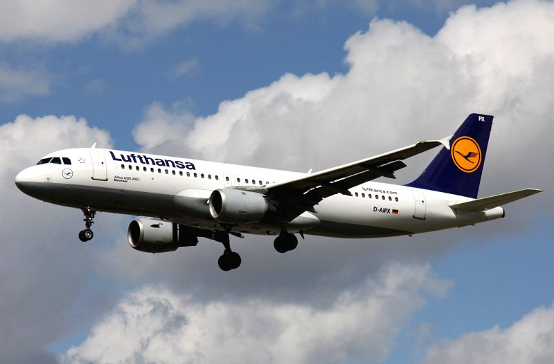 This undated file photo shows the Airbus A320 of Germany's Lufthansa Airlines. An Airbus A320 of the German airline Germanwings crashed Tuesday in ...