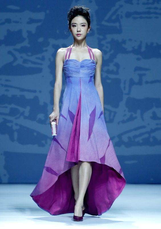 CHINA-BEIJING-FASHION WEEK-DENG ZHAOPING